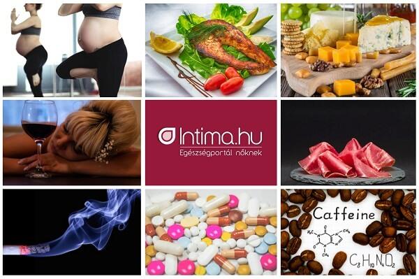 Mit (t)ehetsz és mit nem terhesség alatt?