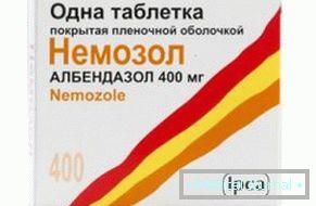 helminths tabletták kezelése