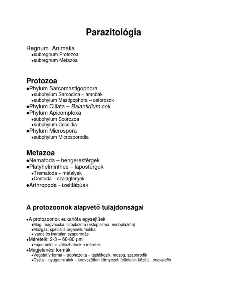 div. Bilateria (Coelomata) kétoldali részarányosak