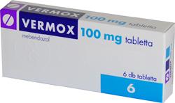 vermox tabletta vény nélkül