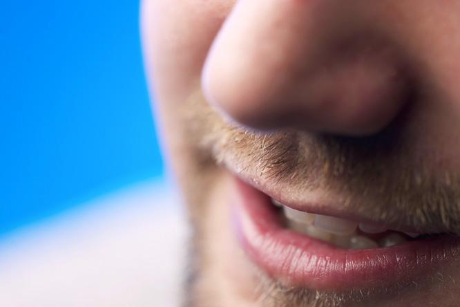 férgek a szájban